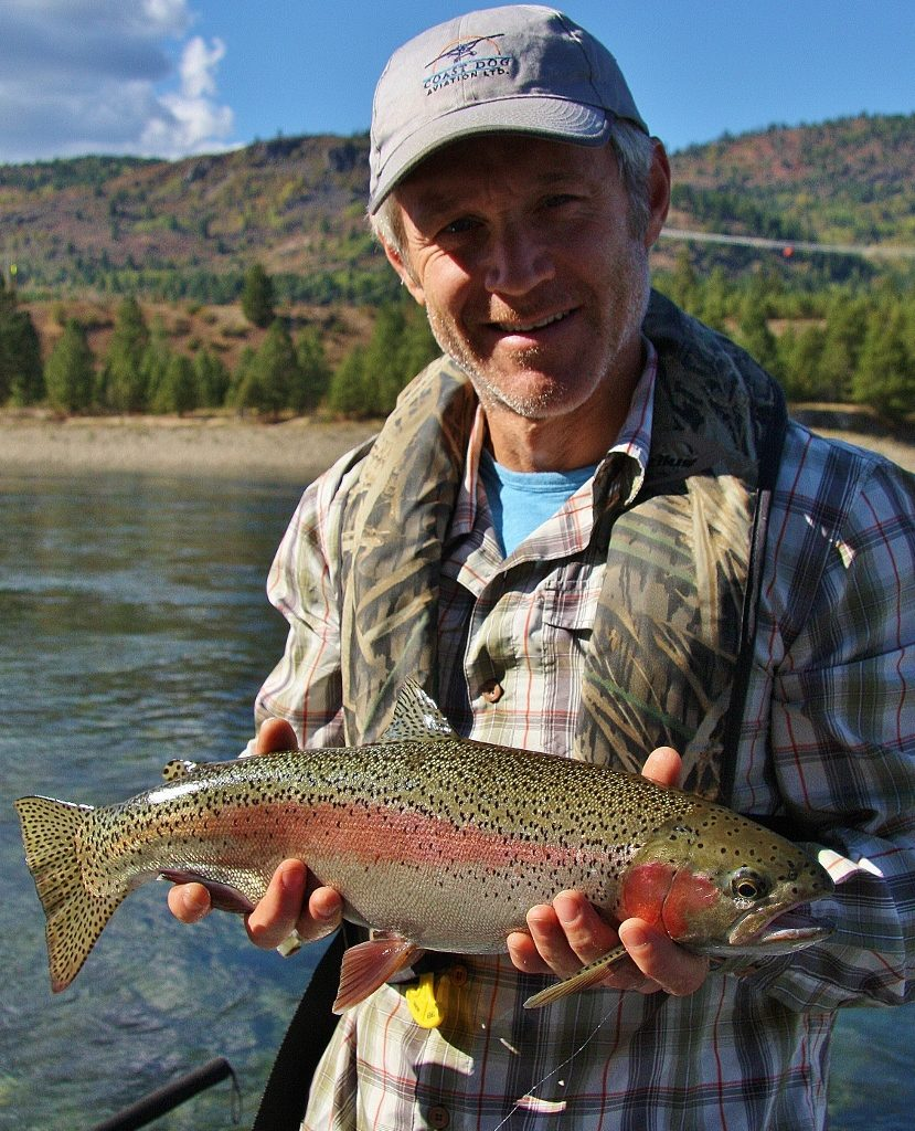 Steelhead strain rainbows love to eat Dry Flies