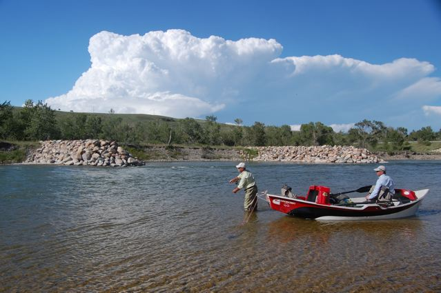 Fly -Fishing The Oldman River