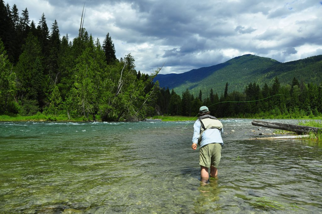 Fly-Fishing The Slocan River B.C.