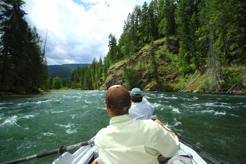 Floating The Slocan River