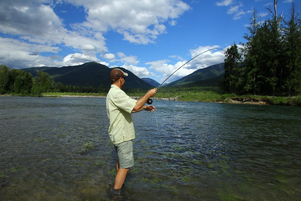 Fly-Fishing The Slocan River