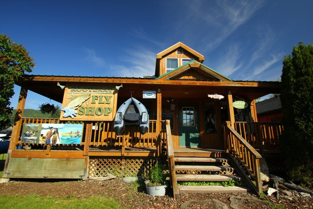 The Kootenay Fly-Shop Fernie B.C.