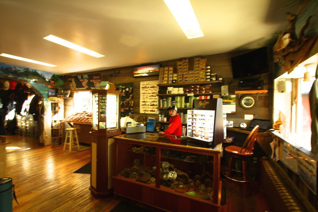 Inside The Kootenay Fly Shop -Elk River Fly Fishing Headquarters