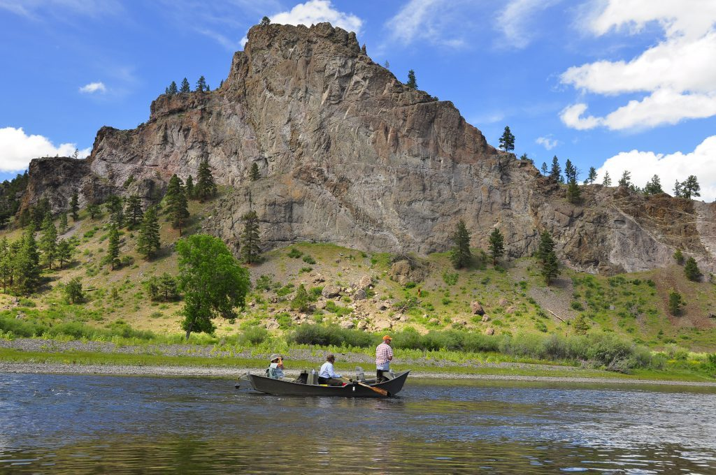 Missouri river fly fishing guides dave brown outfitters for Private trout fishing in missouri