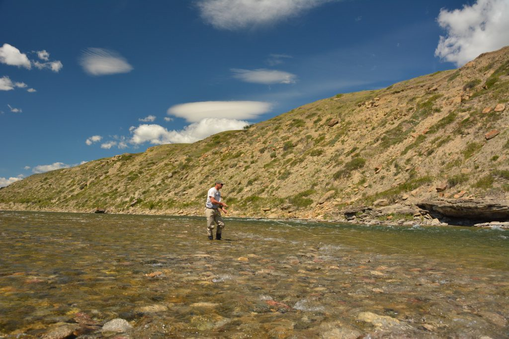 Fly-Fishing The Oldman River